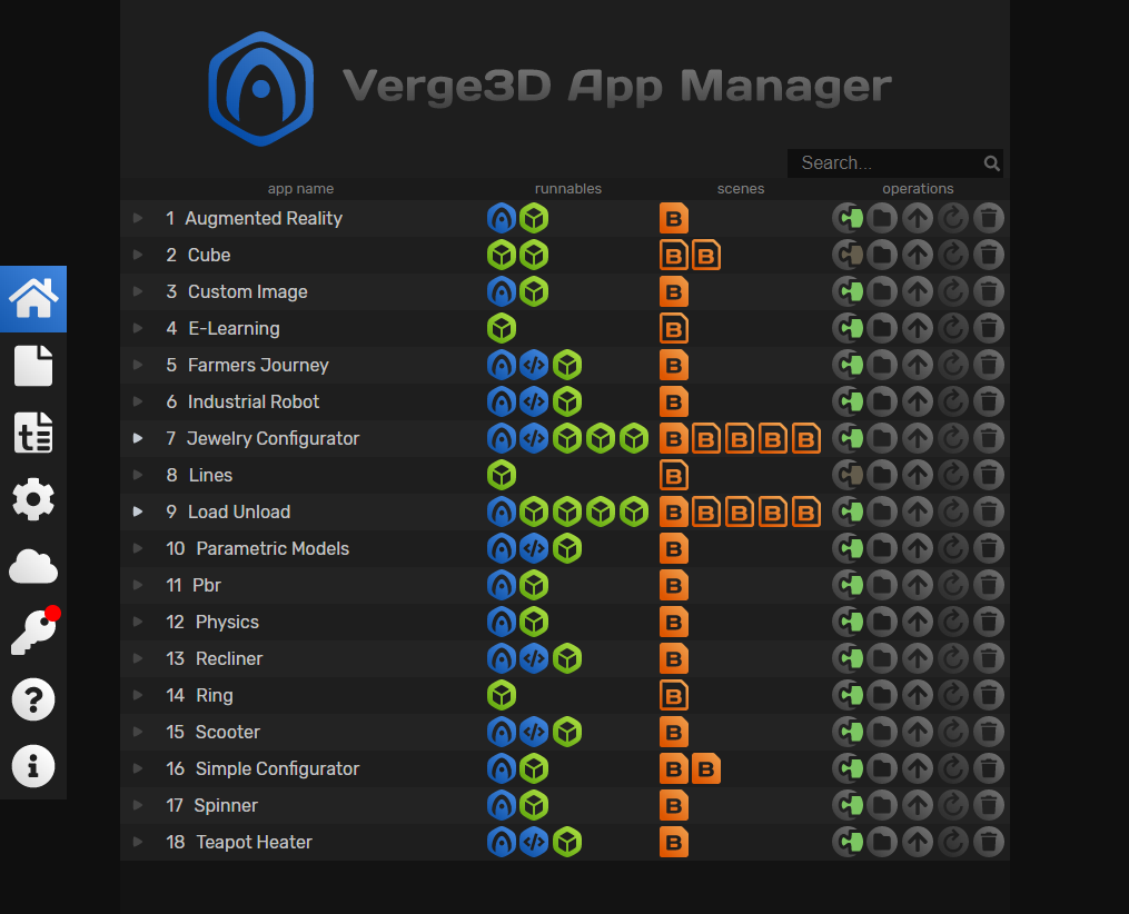 DarkTheme Manager Verge3D 2.8 .2.9